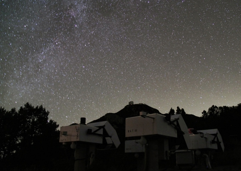 HATNet telescopes at Whipple Observatory, Arizona